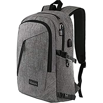 Amazon.com  BGD Water-Resistant Laptop Backpack Travel College ... 3a0b36fd80a2d