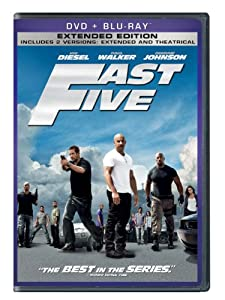 Cover Image for 'Fast Five (Two-Disc DVD/Blu-ray Combo + Digital Copy in DVD Packaging)'