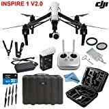 DJI Inspire 1 V2.0 Bundle with TB47 Intelligent Flight Battery, Remote Harness, 16GB MicroSD Card and More.