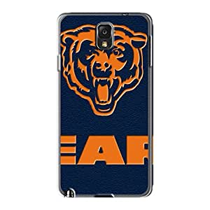 AlainTanielian Samsung Galaxy Note 3 Best Cell-phone Hard Cover Support Personal Customs Stylish Chicago Bears Skin [zwd3581Akws]