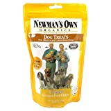 Newman's Own Organics Dog Treats, Medium Sized, Cheese, 10-Ounce Bags (Pack of 6), My Pet Supplies