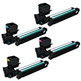 GandG Image Compatible KONICA-MINOLTA magicolor 3730/3730DN High Capacity Toners – 4 Pack (Cyan, Magenta, Yellow and Black), Office Central
