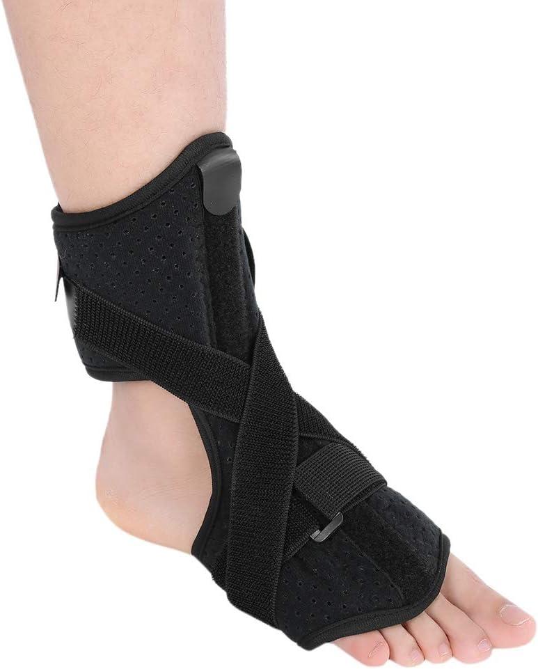 Soporte para tobillo, correa ancha para el tobillo, soporte para la articulación del tobillo, soporte para ortesis, para corregir el pie imperfecto, tratar la caída del pie