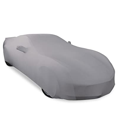2014-2020 C7 Stingray, Z51, Z06, Grand Sport Corvette Ultraguard Stretch Satin Indoor Car Cover (Silver): Automotive