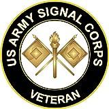 amazon militarybest us army veteran 101st airborne sticker 101st Airborne Clip Art militarybest 3 8 us army signal corps veteran decal sticker