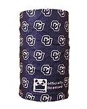 Pandana University of Colorado CU Pinstripe Genuine Seamless Neck Gaiter Facemask Headband