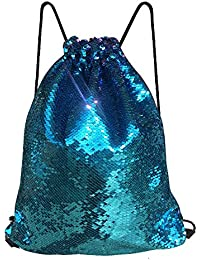 Mermaid Sequin Drawstring Bags 6faecb8f43a87
