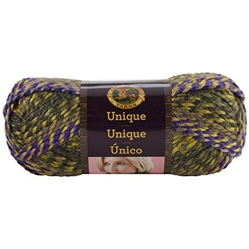 Lion Brand Yarn 755-202 Unique Yarn, (202 Yarn)