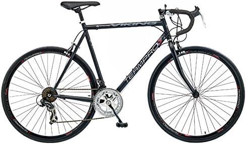 Viking Team Pro - Bicicleta de Carretera para Hombre (14 velocidades) Rojo Negro Mate Talla:59 cm: Amazon.es: Deportes y aire libre