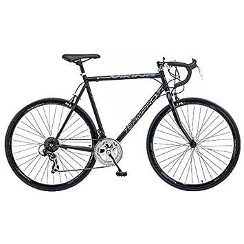 Viking Team Pro - Bicicleta de Carretera para Hombre (14 velocidades) Rojo Negro Mate Talla:56 cm: Amazon.es: Deportes y aire libre