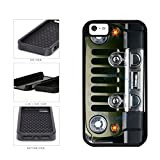 BleuReign(TM) SUV Car Bumper Grill 2-Piece Dual Layer Phone Case Back Cover For Apple iPhone 5 5s