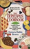 img - for Homespun Cookbook book / textbook / text book