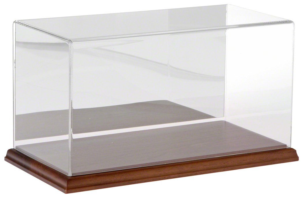 Plymor Clear Acrylic Display Case with No Base, 12 W x 6 D x 6 H