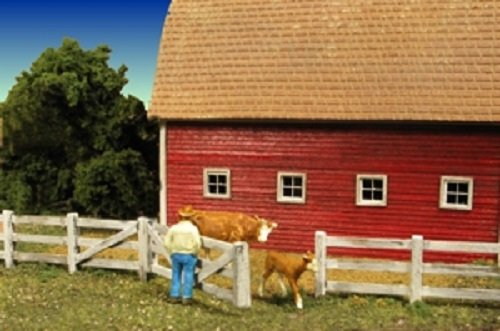 "Monroe Models ""HO"" BARN YARD FENCE 176 Scale Feet NEW Item 2310"