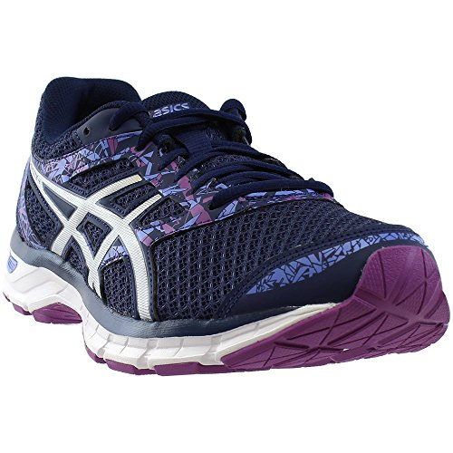 ASICS Gel-Exciter 4 Indigo Blue/Blue/Orchid Women's Running (Comfortable Womans Sneaker)