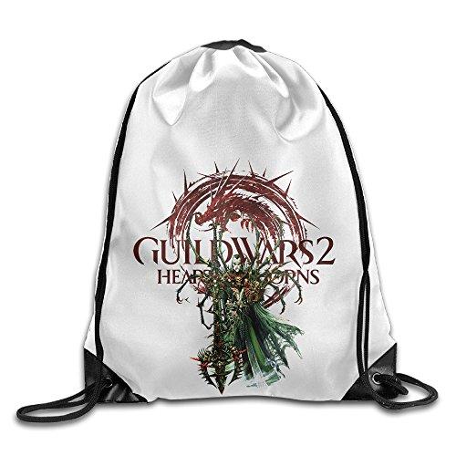 Bekey Guild Wars 2 Ritualist Gym Drawstring Backpack
