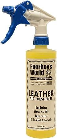 Poorboys Piel Spray ambientador Coche Olor Eliminator, 473 ml - Amazon.es