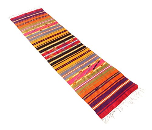 Vintage Turkish Kilim Runner - 1′11″ × 6′10″