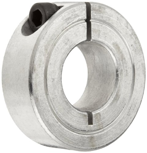 Climax Metal 1C-062-S T303 Stainless Steel One-Piece Clamping Collar, 5/8