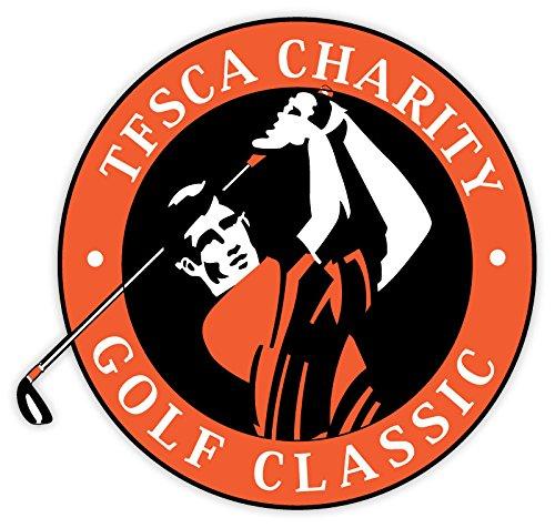 Tesca charity golf classic sticker decal 4