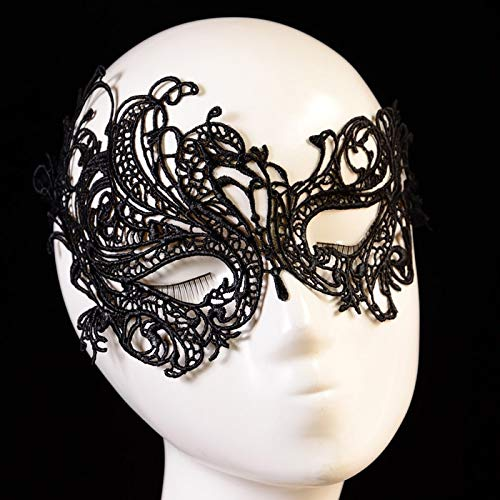 Mask Masquerade Ball - Favourite Halloween Fashion Sexy Lace Eye Mask Masquerade Ball Party Fancy Costume Deguisement - Mask Mask Face Masker Mask Mask Halloween Mask Smile Sexi Mask -