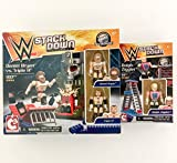 Triple H Daniel Bryan Dolph Ziggler. WWE stackdown combo. Bridge Direct C3 Bricks Table, Ladder, Wrestling Set. HHH