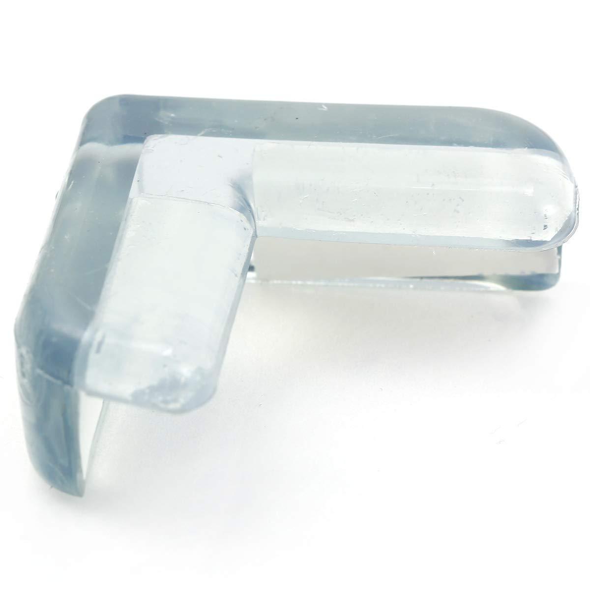 Anladia Silikon Tisch Eckenschutz Kantenschutz Eckschutz Glastisch Kindersicherung Kinder Baby Schutz Sicherungspuffer Sto/ßschutz