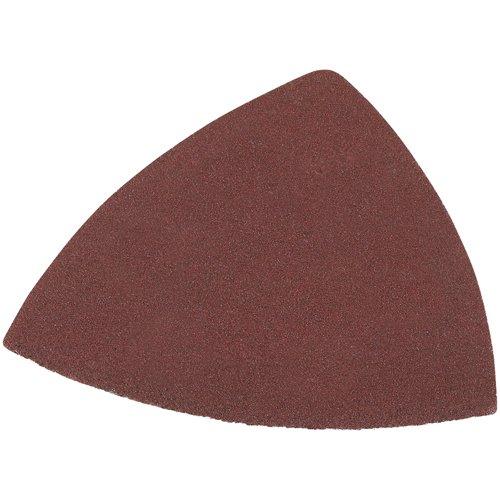 DEWALT DWASPTRI083 Hook and Loop Triangle 80 Grit Sandpaper, 12-Pack