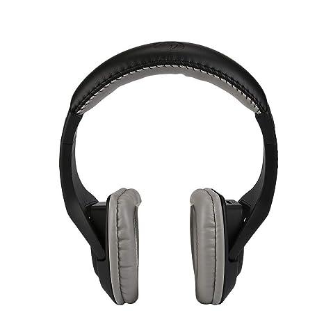 Cebbay Auricular Bluetooth inalámbrico Bajo estéreo para Auriculares 3.5mm Adecuado para TV, PC,