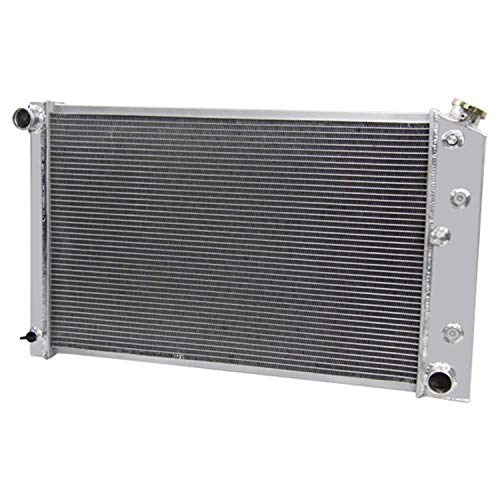 CoolingCare 3 Row Core All Aluminum Radiator for Chevy C&K 10 20 30 1973-87 /Camaro 1970-81 /El Camino 1978-87 /Nova 1970-81 (32'' Overall Width) (1983 Chevrolet Malibu Radiator)