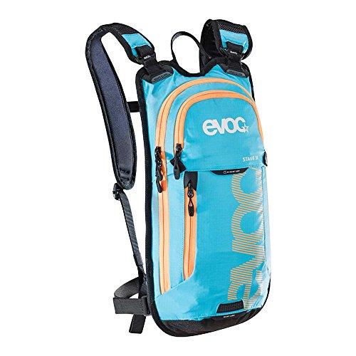 Evoc Stage Technical 3L Bike Daypack - 183cu in Neon Blue, 3L