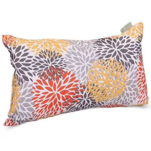 Majestic Home Goods Citrus Blooms Indoor / Outdoor Small Throw Pillow 20