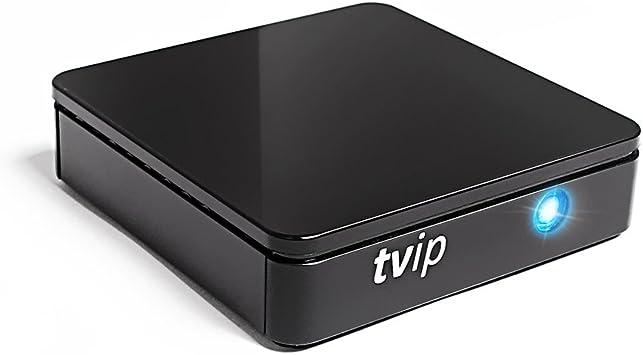 TVIP S de Caja v.415 IPTV hevc HD Android 4.4 Linux Multimedia Stalker Interna IP TV Streamer 512 MB RAM + 4 GB Flash, microSD Card, Ext.IR, 2,4/5 GHz WiFi: Amazon.es: Electrónica