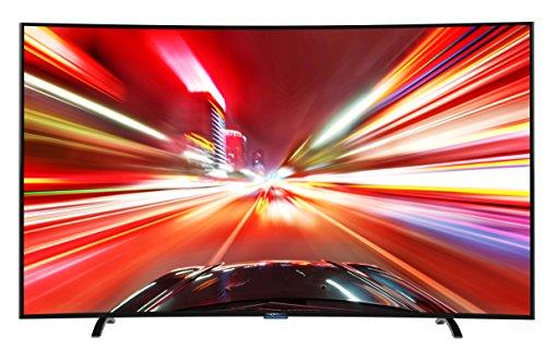 Thomson 55UA8596 140 cm (55 Zoll) Curved Fernseher (Ultra HD, Triple Tuner DVB-T2 HEVC H.265, Smart TV)