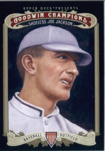 2012 Upper Deck Goodwin Champions Baseball Card #139 Shoeless Joe Jackson
