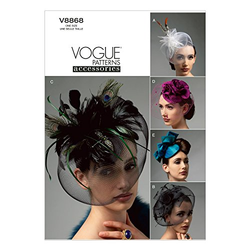 - Vogue Patterns V8868 Hats Sewing Template