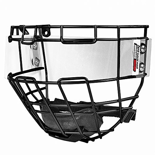y face shield (Black) (Hybrid Full Face Helmet)