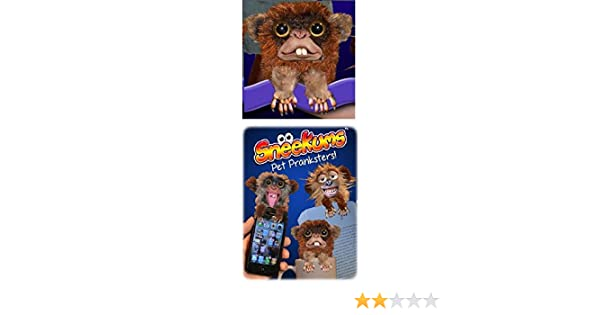 Amazon.com: Jitters Sneekums Pet Pranksters Pop Up Anywhere Toy by William Mark: Toys & Games