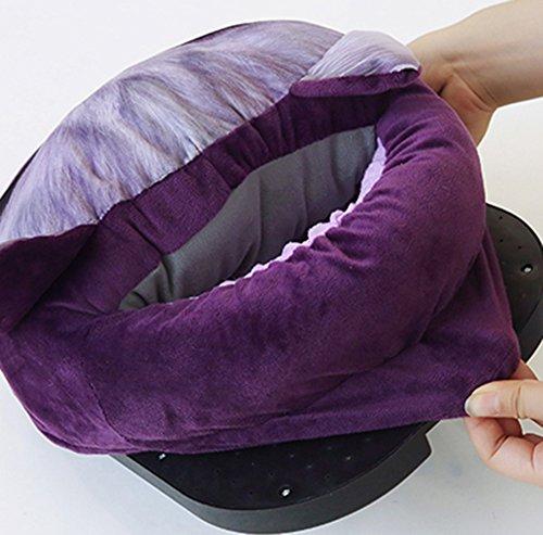 Elettrico Design Gatti 3d Inverno Caldo Scaldapiedi Unisex Cani Modello Gatto Morbido Viola E Slittata 5TU1Uf