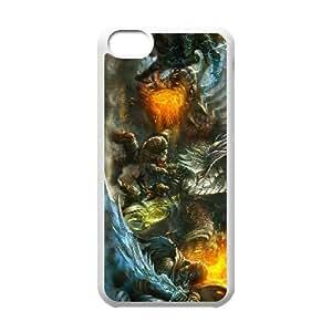soul sacrifice iPhone 5c Cell Phone Case White xlb2-278623