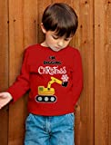 I'm Digging Snow Plough Tractor Toddler/Kids Long Sleeve T-Shirt