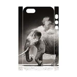 3D Bumper Plastic Customized Case Of Elephant for iPhone 6 plus