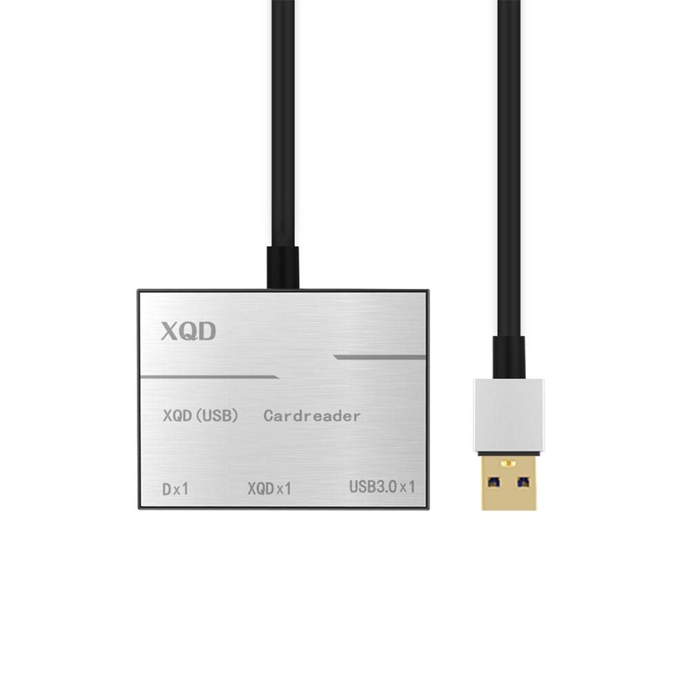 Goodtimera SD Card Reader USB 3.0 XQD Card Adapter Super Speed Reader Compatible with USB 3.0//2.0