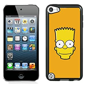 High Quality iPod Touch 5 Case ,Aj Bart Face Art Illust Yellow Simpsons Minimal Simple iPod Touch 5 Cover Unique And Fashion Designed Phone Case