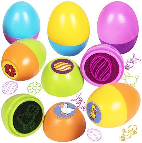 Easter Stamper - Kangaroo's Easter Eggs Rubber Stampers (12-Pack)