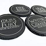 Game of Thrones - Slate Drink Coaster set of 4