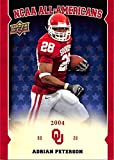 Adrian Peterson football card (Oklahoma Sooners) 2011 Upper Deck NCAA All Americans 2004 #AA-AP