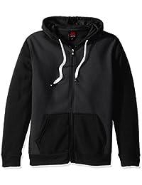 Southpole Men's Active Basic Hooded Full Zip Fleece in...