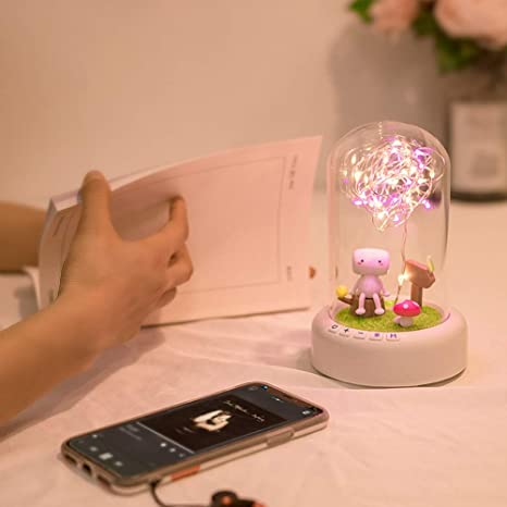 STAY TRULY LED Bluetooth Altavoz, nightlight Dream Streamer ...