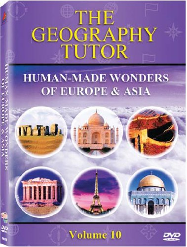 The Geography Tutor: Human-Made Wonders of Europe & Asia Children's at amazon